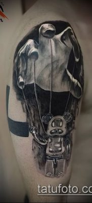 Фото тату Кукловод – пример рисунка – 30052017 – пример – 039 Tattoo Puppeteer