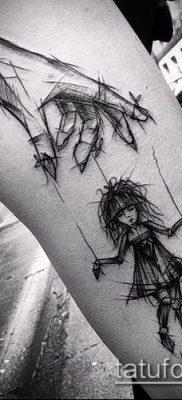 Фото тату Кукловод – пример рисунка – 30052017 – пример – 047 Tattoo Puppeteer