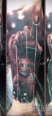Фото тату Кукловод – пример рисунка – 30052017 – пример – 048 Tattoo Puppeteer