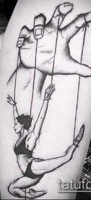 Фото тату Кукловод – пример рисунка – 30052017 – пример – 051 Tattoo Puppeteer