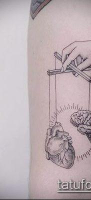 Фото тату Кукловод – пример рисунка – 30052017 – пример – 052 Tattoo Puppeteer