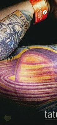 Фото тату Юпитер планет – пример рисунка – 27052017 – пример – 019 Tattoo Jupiter planet