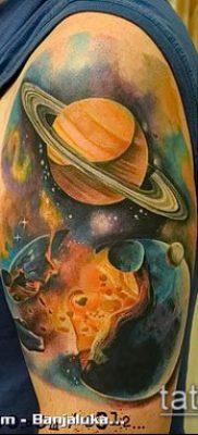 Фото тату Юпитер планет – пример рисунка – 27052017 – пример – 026 Tattoo Jupiter planet