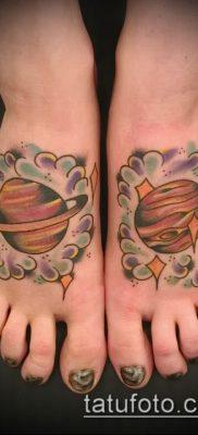 Фото тату Юпитер планет – пример рисунка – 27052017 – пример – 035 Tattoo Jupiter planet