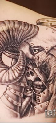 Фото тату баран – 22052017 – пример – 012 Tattoo ram