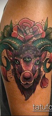 Фото тату баран – 22052017 – пример – 039 Tattoo ram