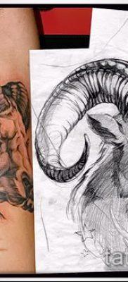 Фото тату баран – 22052017 – пример – 062 Tattoo ram