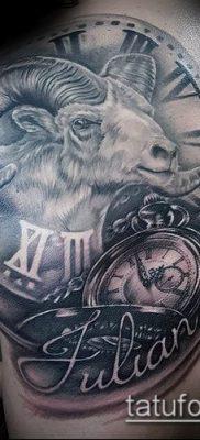 Фото тату баран – 22052017 – пример – 064 Tattoo ram