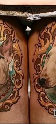 Фото тату бультерьер – 18052017 – пример – 031 Bull terrier tattoo