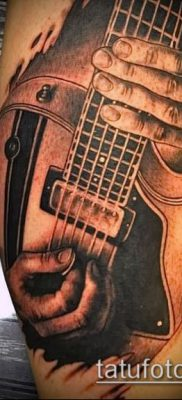 Фото тату гитара – 25052017 – пример – 006 Tattoo guitar