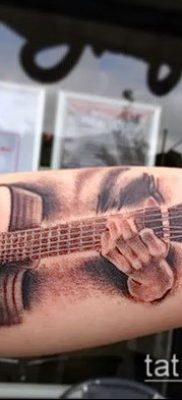 Фото тату гитара – 25052017 – пример – 017 Tattoo guitar