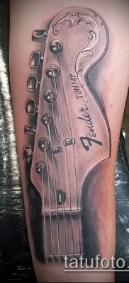 Фото тату гитара – 25052017 – пример – 020 Tattoo guitar