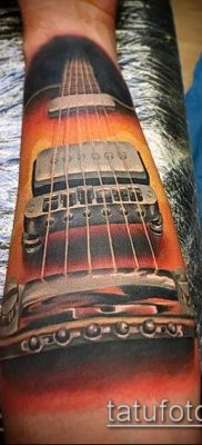 Фото тату гитара – 25052017 – пример – 032 Tattoo guitar