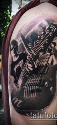 Фото тату гитара – 25052017 – пример – 049 Tattoo guitar