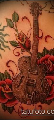 Фото тату гитара – 25052017 – пример – 059 Tattoo guitar