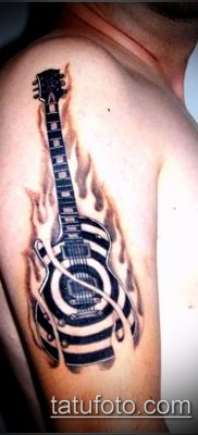 Фото тату гитара – 25052017 – пример – 063 Tattoo guitar