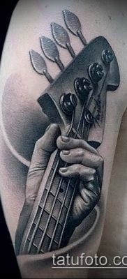 Фото тату гитара – 25052017 – пример – 071 Tattoo guitar