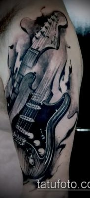 Фото тату гитара – 25052017 – пример – 079 Tattoo guitar