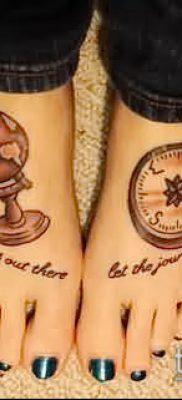 Фото тату глобус – пример рисунка – 26052017 – пример – 082 Tattoo globe