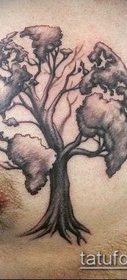 Фото тату глобус – пример рисунка – 26052017 – пример – 089 Tattoo globe