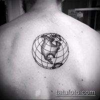 Значение тату глобус