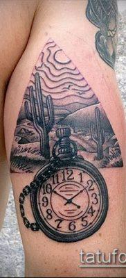 Фото тату кактус – пример рисунка – 27052017 – пример – 053 Tattoo cactus