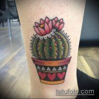 Значение тату кактус