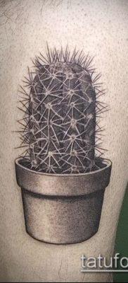 Фото тату кактус – пример рисунка – 27052017 – пример – 112 Tattoo cactus