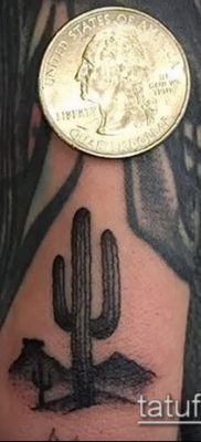 Фото тату кактус – пример рисунка – 27052017 – пример – 115 Tattoo cactus