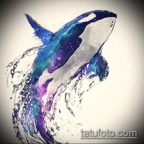 Фото тату касатка - 19052017 - пример - 013 Tattoo Killer whale