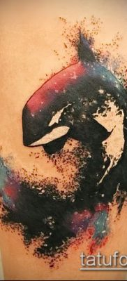 Фото тату касатка – 19052017 – пример – 021 Tattoo Killer whale