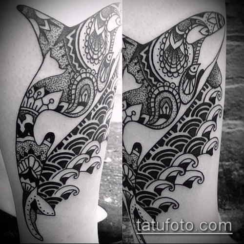 Фото тату касатка - 19052017 - пример - 027 Tattoo Killer whale