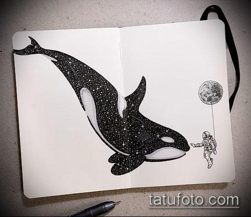 Фото тату касатка - 19052017 - пример - 034 Tattoo Killer whale