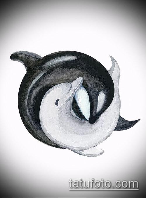 Фото тату касатка - 19052017 - пример - 054 Tattoo Killer whale