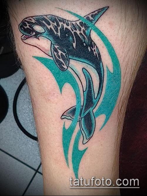 Фото тату касатка - 19052017 - пример - 066 Tattoo Killer whale