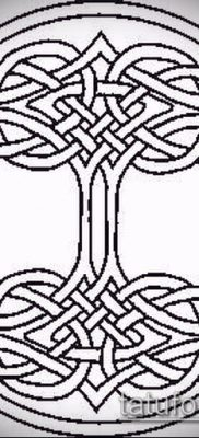 Фото тату кельтский узел – 18052017 – пример – 015 Tattoo celtic knot