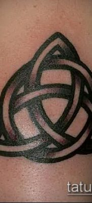 Фото тату кельтский узел – 18052017 – пример – 019 Tattoo celtic knot
