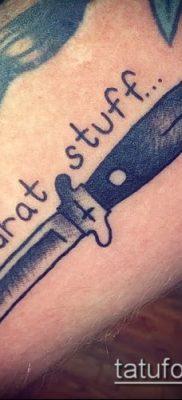 Фото тату клинок оружие – пример рисунка – 27052017 – пример – 018 Tattoo blade weapo
