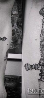 Фото тату клинок оружие – пример рисунка – 27052017 – пример – 027 Tattoo blade weapo