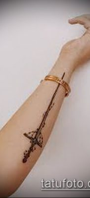 Фото тату клинок оружие – пример рисунка – 27052017 – пример – 039 Tattoo blade weapo