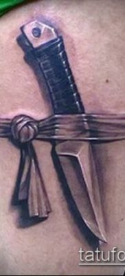 Фото тату клинок оружие – пример рисунка – 27052017 – пример – 042 Tattoo blade weapo