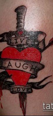 Фото тату клинок оружие – пример рисунка – 27052017 – пример – 047 Tattoo blade weapo