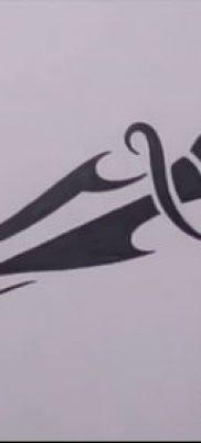 Фото тату клинок оружие – пример рисунка – 27052017 – пример – 048 Tattoo blade weapo