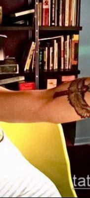Фото тату клинок оружие – пример рисунка – 27052017 – пример – 063 Tattoo blade weapo 2342422