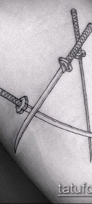 Фото тату клинок оружие – пример рисунка – 27052017 – пример – 075 Tattoo blade weapo