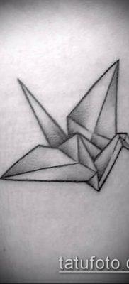 Фото тату оригами (Tattoo origami example) (значение) – пример рисунка – 016 tatufoto.com