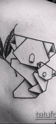 Фото тату оригами (Tattoo origami example) (значение) – пример рисунка – 028 tatufoto.com