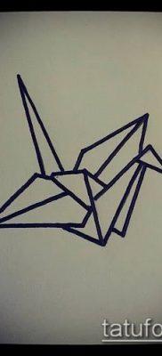Фото тату оригами (Tattoo origami example) (значение) – пример рисунка – 049 tatufoto.com
