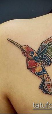 Фото тату оригами (Tattoo origami example) (значение) – пример рисунка – 070 tatufoto.com