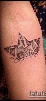 Фото тату оригами (Tattoo origami example) (значение) – пример рисунка – 079 tatufoto.com